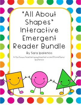 Emergent Easy Interactive Shape Book Bundle
