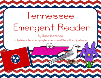 """Emergent Easy Reader Book: """"Tennessee"""""""