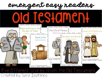 Emergent Easy Reader Book Bundle: Old Testament Theme