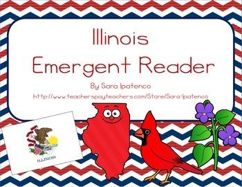 "Emergent Easy Reader Book: ""Illinois"""