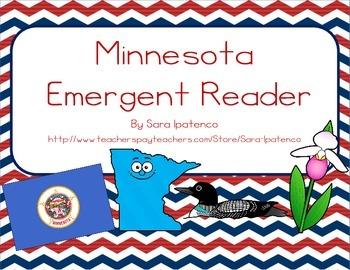 "Emergent Easy Reader Book: ""Minnesota"""