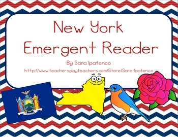 "Emergent Easy Reader Book: ""New York"""