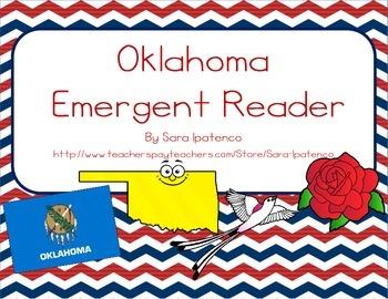 "Emergent Easy Reader Book: ""Oklahoma"""