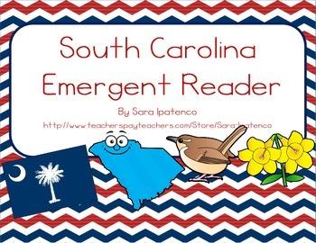 """Emergent Easy Reader Book: """"South Carolina"""""""