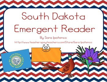 "Emergent Easy Reader Book: ""South Dakota"""