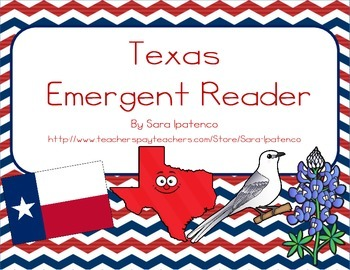 "Emergent Easy Reader Book: ""Texas"""