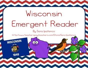 "Emergent Easy Reader Book: ""Wisconsin"""