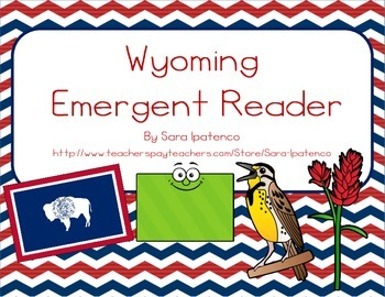 """Emergent Easy Reader Book: """"Wyoming"""""""