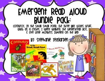 Emergent Read Aloud Bundle Pack