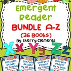 Emergent Reader A-Z Bundle (26 books)