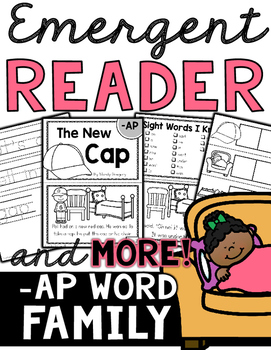 Emergent Reader (-AP Word Family) and MORE!