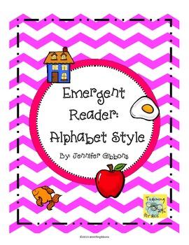 Emergent Reader: Alphabet Style