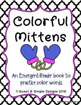 Emergent-Reader Book for Winter and Christmas To Practice