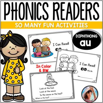 "Phonics Emergent Reader  {Diphthong ""AU""}"