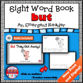 Sight Word Book Emergent Reader - BUT
