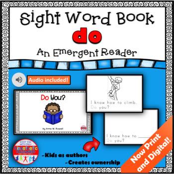 Sight Word Book Emergent Reader - DO