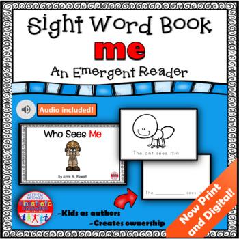 Sight Word Book Emergent Reader - ME
