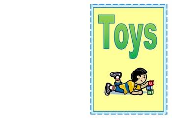 Emergent Reader Environmental Print- Toys