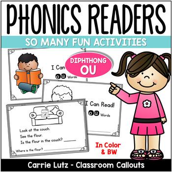 "Phonics Emergent Reader Freebie {Diphthong ""OU""}"