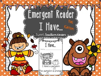 "Emergent Reader I ""Have""... Fall Edition"