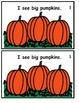 Emergent Reader - I See Pumpkins/Big/Tall/Fat/Skinny/Sight