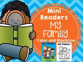 Emergent Reader (Mini Book) - My Family