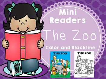 Emergent Reader (Mini Book) - The Zoo