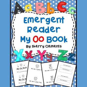 Emergent Reader: My Oo Book (sight words: we, saw, a)