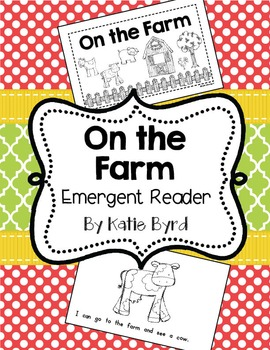 Emergent Reader - On the Farm