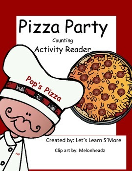 Pizza Counting Emergent Reader and Cut and Paste Activitie