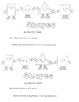 Emergent Reader: Shapes