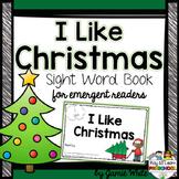 Sight Word Book - Christmas