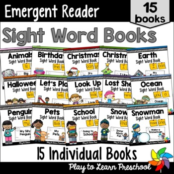 PrePrimer Sight Word Books - Bundle 1