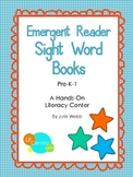 Emergent Reader Sight Word Books