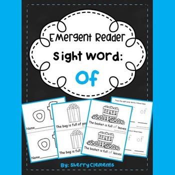 Sight Word Reader: of