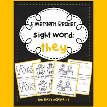 Sight Word Reader: they