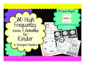 Sight Words, Popcorn Word Activities