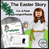 Easter Activities Emergent Reader and Cut and Paste Activi
