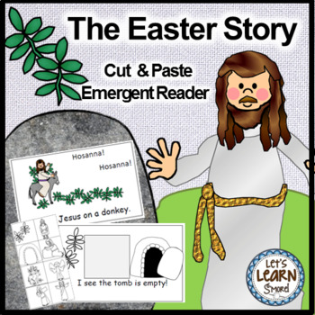 Easter Emergent Reader and Cut and Paste Activity Reader