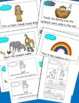 Noah's Ark Emergent Reader and Cut and Paste Activities Re
