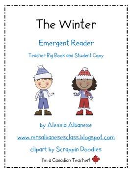 Emergent Reader - The Winter (Teacher Resource and Student Book)