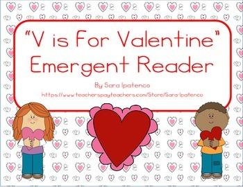 "Emergent Easy Reader: ""V is For Valentine"""