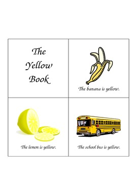 Emergent Reader - Yellow Book