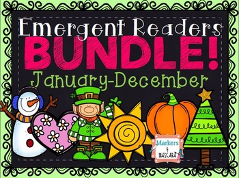 Emergent Readers Bundle: January-December
