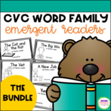 Emergent Readers - CVC word family books BUNDLE