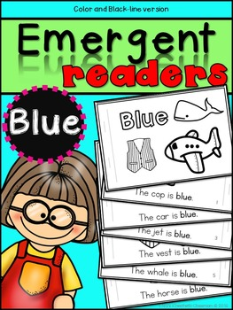 Emergent Readers: Color Words BLUE