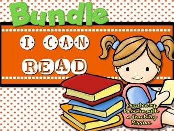 BUNDLE Early & Emergent Readers I can Read Volumes 1-7