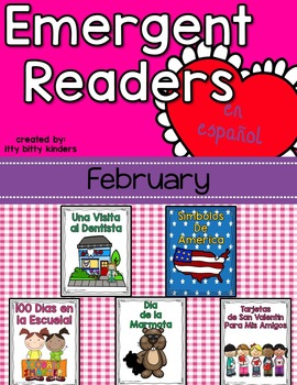 Emergent Readers Set for February in Spanish