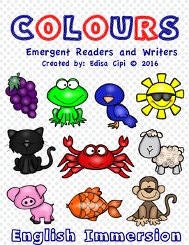 Emergent Readers and Writers - COLOURS-