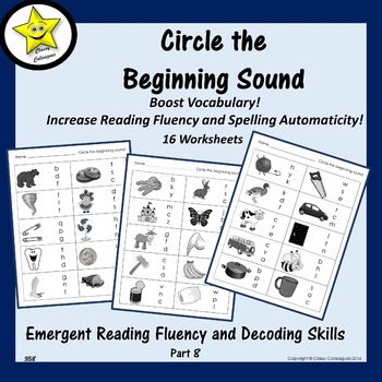 Emergent Reading Fluency and Decoding Skills, Part 8 (Begi